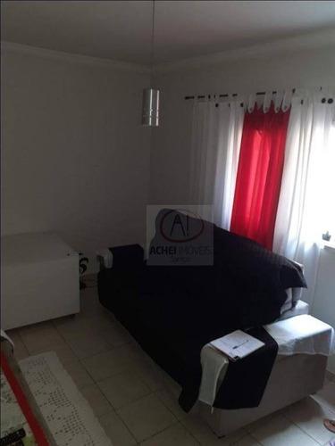 Casa Com 2 Dormitórios À Venda, 68 M² Por R$  - Parque São Vicente - São Vicente/sp - Ca1554