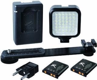 Xit Xtledkit Mini Kit De Luz Led Portatil Negro