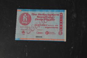 Deep Purple Sepultura Hellacopters Porto Alegre 2003 Ingress
