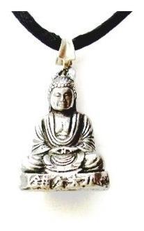 Colar Buda Em Lotus Deuses Hindu Budha Pingente