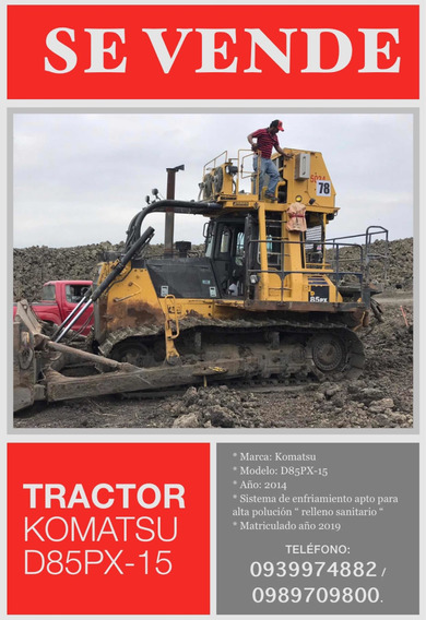 Tractor Komatsu D85px-15