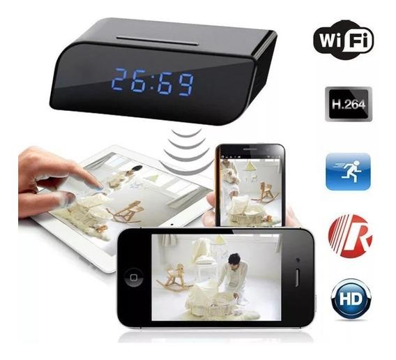 Reloj Camara Seguridad Espia Oculta 1080p Wifi