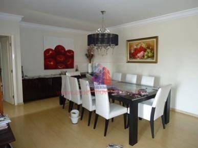 Apartamento Com 3 Dormitórios À Venda, 194 M² Por R$ 1.100.000 -  Edifício San Diego - Vila Medon - Americana/sp - Ap0054