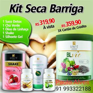 Kit Seca Barriga (5 Itens)