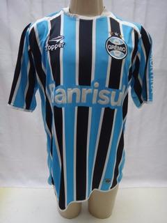 Camisa De Futebol Do Gremio # 16 Topper Banrisul 2011 - Bj08