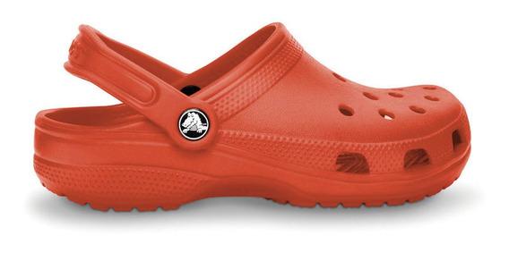 Crocs Originales Classic Tomato Unisex Hombre Mujer