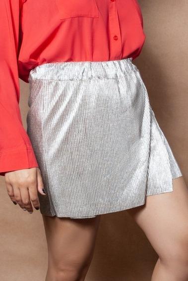 Pollera Pantalon Plisada - Talles Grandes Y Especiales !!!