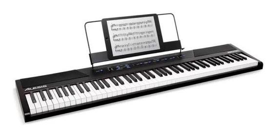 Piano Digital Alesis Recital 88 Teclas Pesadas Hammer Oferta