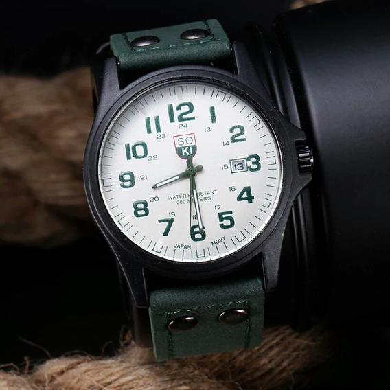 Relógio Soki Á Prova D