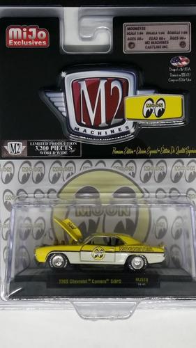 M2 Machines Moon 1969 Chevrolet Camaro Copo 1:64