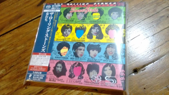 Sacd Rolling Stones - Some Girls - Japão