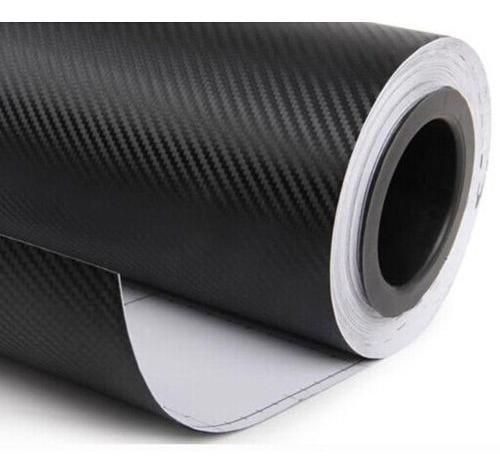 Vinilo Simil Fibra De Carbono Texturado Moldeable Ploter