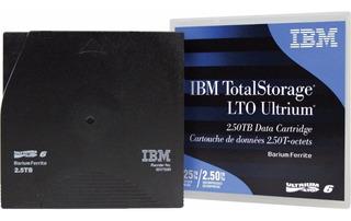 Cinta Ibm Lto 6 Ultrium Data Cartridge (2,5/6,25tb) 00v7590