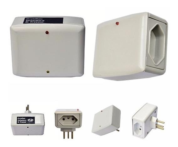 Kit Protetor Raios Eletro Tv Som + Protetor Geladeira 127v