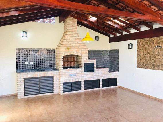 Linda Casa Para Locação Á 300 Metros Da Praia - A923