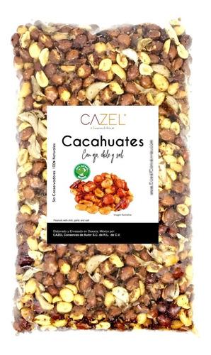 Cacahuate Con Ajo Y Chile De Árbol Botana Oaxaqueña 5kg