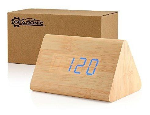 Reloj Digital Gearonic Madera
