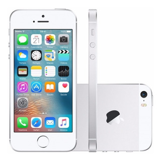 iPhone 5s 16gb Silver Recondicionado De Fabrica (novo)