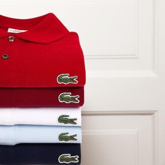 Camisetas Da Lacoste Polos Kit Com 5 - Super Oferta!!!