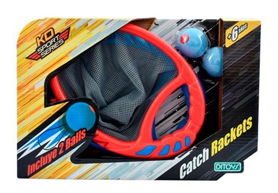 Juego De Raquetas Catch Rackets Original Ditoys