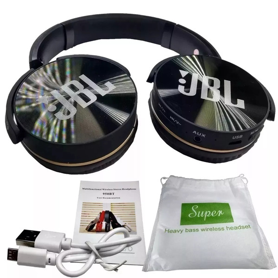 Fone Bluetooth Everest Jb950 - Radio Fm + Micro Sd