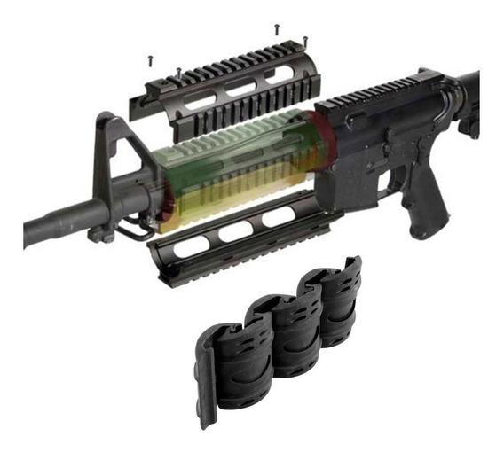Guardamano Enfriador Ar15 M16 M4 Aluminio Weaver Picatinny