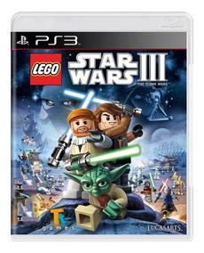 Lego Star Wars Iii 3 The Clone Wars Ps3 Mídia Física