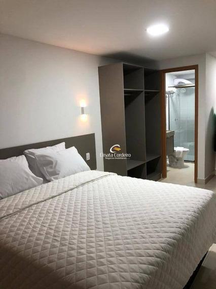 Flat Com 1 Dormitório À Venda, 22 M² Por R$ 200.000,00 - Manaíra - João Pessoa/pb - Fl0092