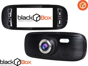Câmera Veicular Black Box Gp3 - Até 128gb - Até 25h Em Hd