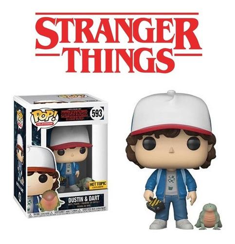 Funko Pop Dustin & Dart 593 Stranger Things