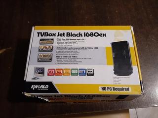 Tvbox Jet Black Kworld Sin Control Remoto