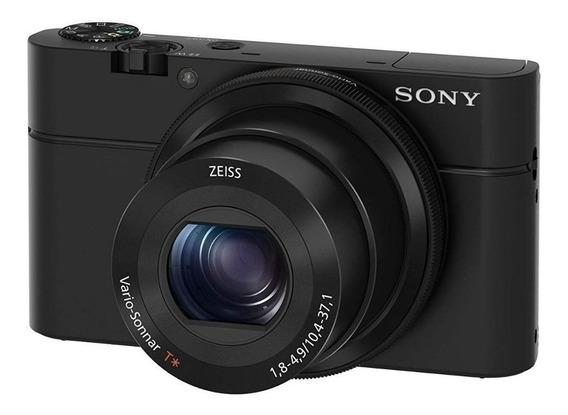 Sony Cyber-shot RX100 compacta avançada preta