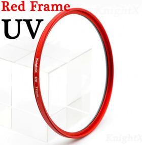 Filtro Uv Knightx Red 52 Mm Lente 18-55mm Nikon D3200
