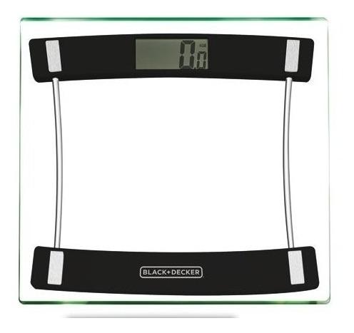 Balança Digital Banheiro Academia 180kg Black Decker Bk40