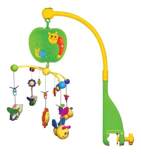 Imagen 1 de 9 de Cunero Movil Para Cuna Musical Con Control Proyector Zippy