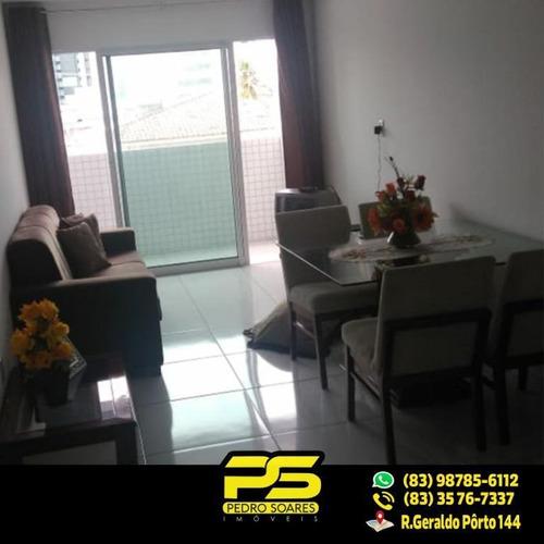 ( Oferta ) Apartamento Com 2 Quartos 1 Suíte No Cabo Branco - Ap1619