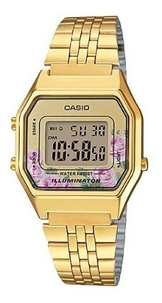 Reloj Casio La-680wga-4c Mujer Envio Gratis