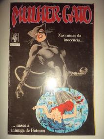 Mulher Gato Editora Abril 1989 Otima Lote Heinzeberg