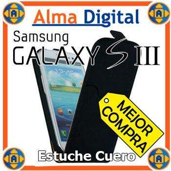 Estuche Cuero Samsung S3 Forro Protector Funda I9300 Siii