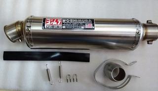 Escape Deportivo Bmw Pulsar Ktm Fz Yamaha Universal 42cm