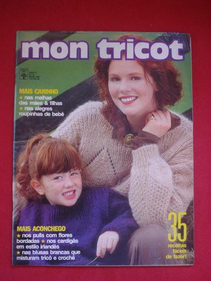Revista Mon Tricot Receitas Pulls Cardigãs Blusas Malhas 011
