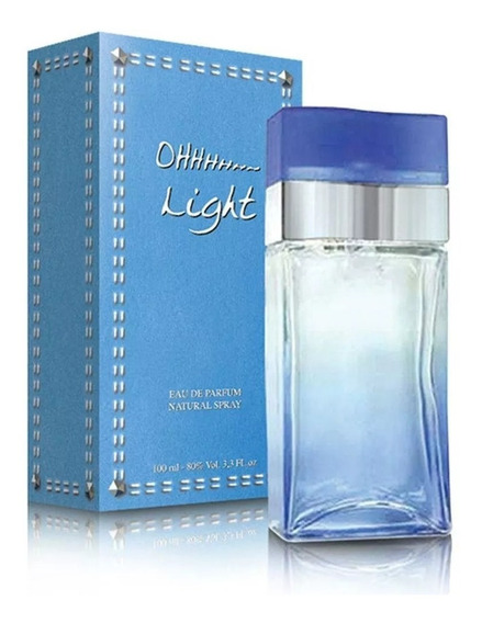 Kit Com 2 Ohhh Light New Brand Edp Fem. 100 Ml- Original