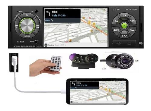 Radios Carro Mp5 Pantalla 4,1 Bluetooth Usb+ Cámara Control