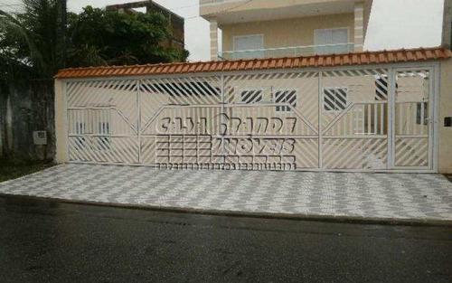 Imagem 1 de 20 de Ótimos Sobrados Novos Em Condomínio Em Praia Grande, Nova Mirim - V4370