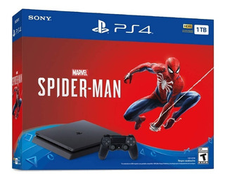 Consola Playstation 4 Slim 1tb Con Juego Marvel