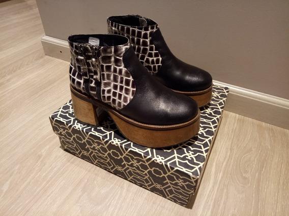 Botas Botinetas Zapatos Paruolo Usados