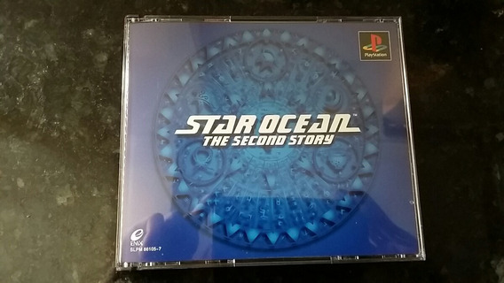 Star Ocean The Second Story Original Ps1 Playstation One Co