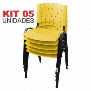 Cadeira Iso Fixa Singolare Amarela
