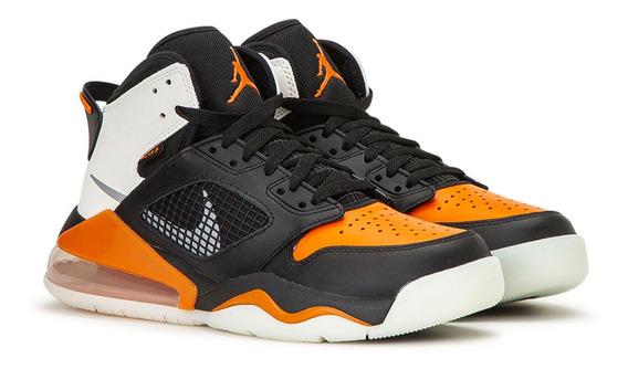 Tenis Air Jordan Mars 270 White / Black / Orange Original!!!