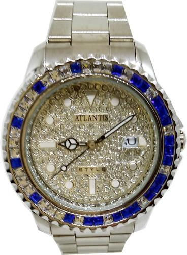 Relógio Atlantis Feminino Brilho